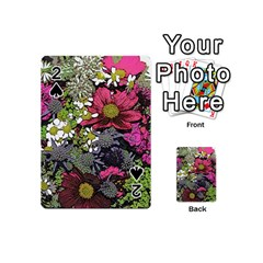 Amazing Garden Flowers 21 Playing Cards 54 (Mini)