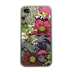 Amazing Garden Flowers 21 Apple Iphone 4 Case (clear)