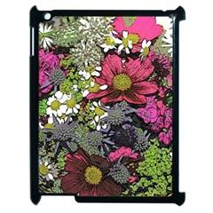 Amazing Garden Flowers 21 Apple Ipad 2 Case (black)