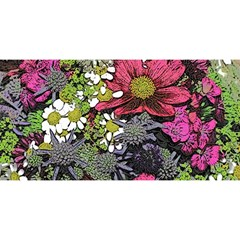 Amazing Garden Flowers 21 YOU ARE INVITED 3D Greeting Card (8x4)