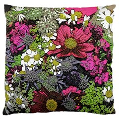 Amazing Garden Flowers 21 Large Cushion Cases (one Side)