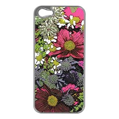 Amazing Garden Flowers 21 Apple Iphone 5 Case (silver)