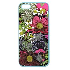 Amazing Garden Flowers 21 Apple Seamless Iphone 5 Case (color)