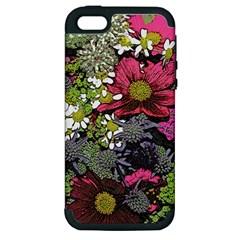 Amazing Garden Flowers 21 Apple Iphone 5 Hardshell Case (pc+silicone)