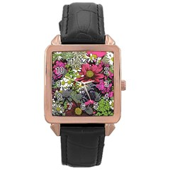 Amazing Garden Flowers 21 Rose Gold Watches