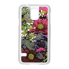Amazing Garden Flowers 21 Samsung Galaxy S5 Case (white)