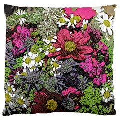 Amazing Garden Flowers 21 Large Flano Cushion Cases (two Sides)