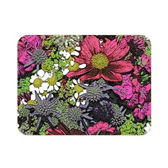Amazing Garden Flowers 21 Double Sided Flano Blanket (mini)