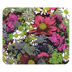 Amazing Garden Flowers 21 Double Sided Flano Blanket (small)