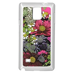 Amazing Garden Flowers 21 Samsung Galaxy Note 4 Case (white)