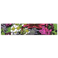 Amazing Garden Flowers 21 Flano Scarf (Small)