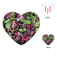 Amazing Garden Flowers 33 Playing Cards (Heart)