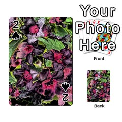 Amazing Garden Flowers 33 Playing Cards 54 Designs