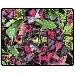 Amazing Garden Flowers 33 Fleece Blanket (Medium)