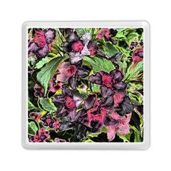 Amazing Garden Flowers 33 Memory Card Reader (square)