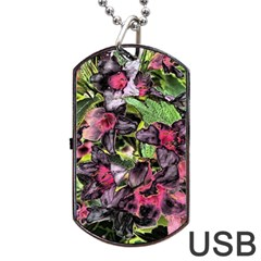 Amazing Garden Flowers 33 Dog Tag USB Flash (Two Sides)