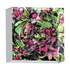 Amazing Garden Flowers 33 5  x 5  Acrylic Photo Blocks