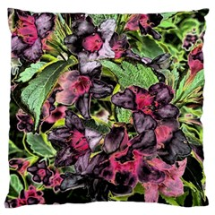 Amazing Garden Flowers 33 Large Flano Cushion Cases (One Side)