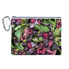 Amazing Garden Flowers 33 Canvas Cosmetic Bag (L)