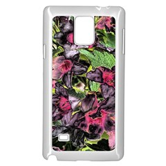 Amazing Garden Flowers 33 Samsung Galaxy Note 4 Case (White)