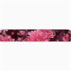 Awesome Flowers Red Small Bar Mats