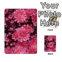 Awesome Flowers Red Multi Purpose Cards (rectangle)