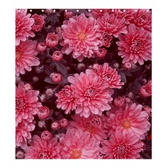 Awesome Flowers Red Shower Curtain 66  x 72  (Large)