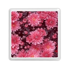 Awesome Flowers Red Memory Card Reader (square)