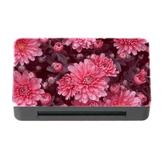 Awesome Flowers Red Memory Card Reader with CF