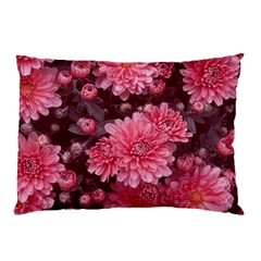 Awesome Flowers Red Pillow Cases (Two Sides)