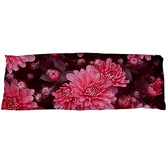 Awesome Flowers Red Body Pillow Cases (Dakimakura)
