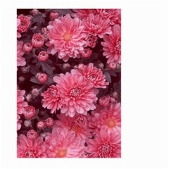 Awesome Flowers Red Large Garden Flag (two Sides)