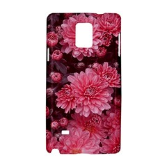 Awesome Flowers Red Samsung Galaxy Note 4 Hardshell Case