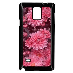 Awesome Flowers Red Samsung Galaxy Note 4 Case (Black)