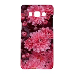 Awesome Flowers Red Samsung Galaxy A5 Hardshell Case