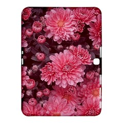 Awesome Flowers Red Samsung Galaxy Tab 4 (10.1 ) Hardshell Case