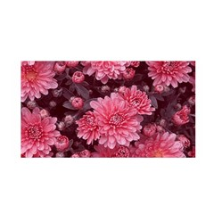 Awesome Flowers Red Satin Wrap