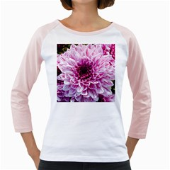 Wonderful Flowers Girly Raglans