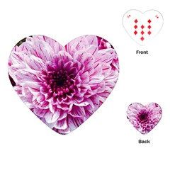 Wonderful Flowers Playing Cards (Heart)