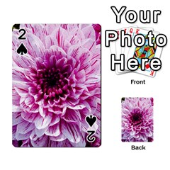 Wonderful Flowers Playing Cards 54 Designs