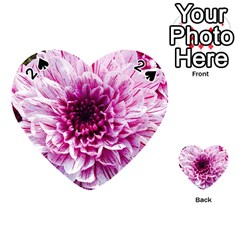 Wonderful Flowers Playing Cards 54 (heart)