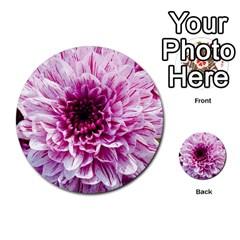Wonderful Flowers Multi-purpose Cards (Round)