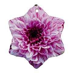 Wonderful Flowers Snowflake Ornament (2-Side)
