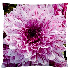 Wonderful Flowers Large Flano Cushion Cases (One Side)