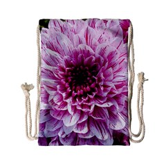 Wonderful Flowers Drawstring Bag (small)