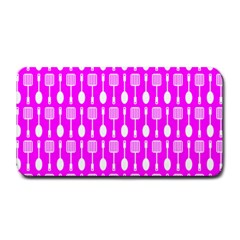 Purple Spatula Spoon Pattern Medium Bar Mats