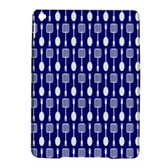 Indigo Spatula Spoon Pattern Ipad Air 2 Hardshell Cases