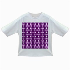 Magenta Spatula Spoon Pattern Infant/toddler T Shirts
