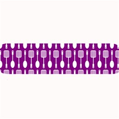 Magenta Spatula Spoon Pattern Large Bar Mats