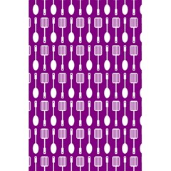 Magenta Spatula Spoon Pattern 5.5  x 8.5  Notebooks